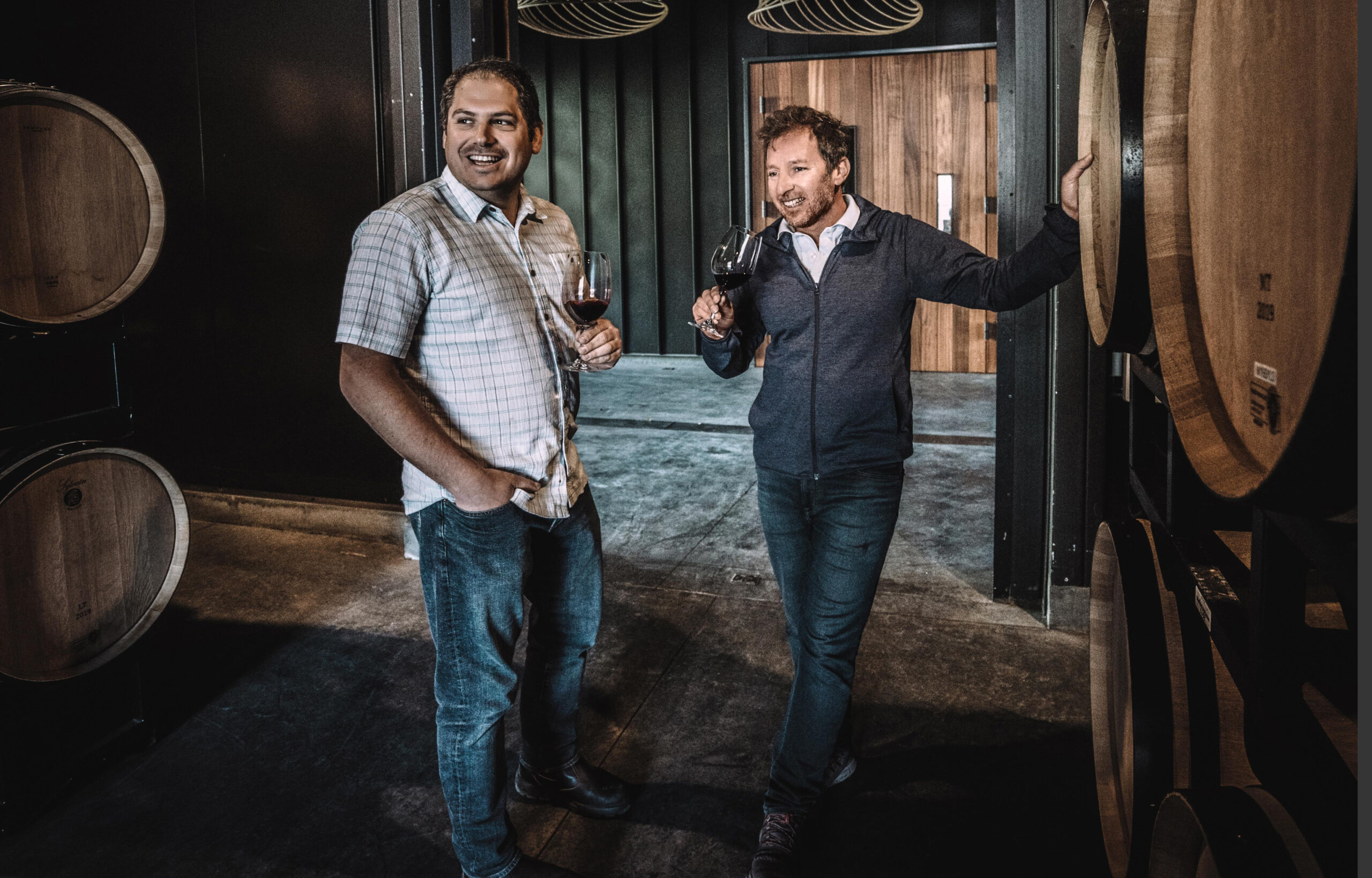 Winemakers Philippe Melka and Maayan Koschitzky